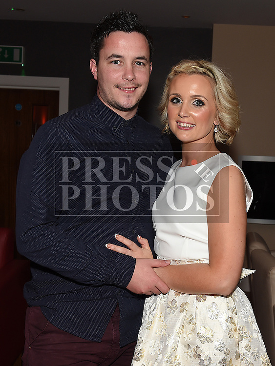 Jenny Smith celebrating her 30th birthday with husband Stephen in Brú. Photo:Colin Bell/pressphotos.ie