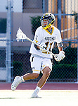 Tustin, CA 04/23/16 - George Dalis (Foothill #11) in action during the non-conference CIF varsity lacrosse game between La Costa Canyon and Foothill at Tustin Union High School.  Foothill defeated La Costa Canyon 10-9 in sudden death overtime.