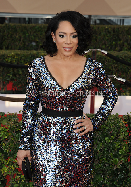 WWW.ACEPIXS.COM<br /> <br /> January 30 2016, LA<br /> <br /> Selenis Leyva arriving at the 22nd Annual Screen Actors Guild Awards at the Shrine Auditorium on January 30, 2016 in Los Angeles, California<br /> <br /> By Line: Peter West/ACE Pictures<br /> <br /> <br /> ACE Pictures, Inc.<br /> tel: 646 769 0430<br /> Email: info@acepixs.com<br /> www.acepixs.com