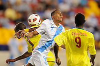 Wilfred Velasquez (9) of Guatemala. Guatemala defeated Grenada 4-0 during a CONCACAF Gold Cup group stage match at Red Bull Arena in Harrison, NJ, on June 13, 2011.