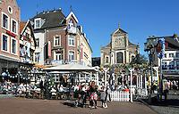 Sittard-  De Markt met cafe's