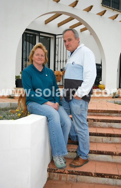 **PICTURES FROM SOLARPIX.COM**.**WORLDWIDE SYNDICATION RIGHTS**.Ex pats property demolition story in the Costa Almeria, in southern Spain...This pic:   Maura Hillen & husband John .JOB REF:    10937    AB1       DATE:   19.03.10.**MUST CREDIT SOLARPIX.COM OR DOUBLE FEE WILL BE CHARGED**.**MUST NOTIFY SOLARPIX OF ONLINE USAGE**.**CALL US ON: +34 952 811 768 or LOW RATE FROM UK 0844 617 7637**