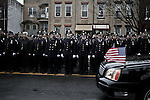 1/4/2015 Yunghi Kim/Contact Press Images. New York.  Funeral for Wenjian Liu in Brooklyn N.Y. Officer Wenjian Liu and Rafael Ramos were shot and killed in their patrol car by Ismaaiyl Brinsley in the Bedford-Stuyvesant.