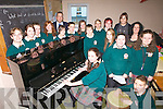 OPEN NIGHT: The school choir at Killorglin Community College which is holding an open night this Thursday for prospective students, with deputy principal Donal O'Reilly and teachers Claire Cosgrove and Una Flynn.