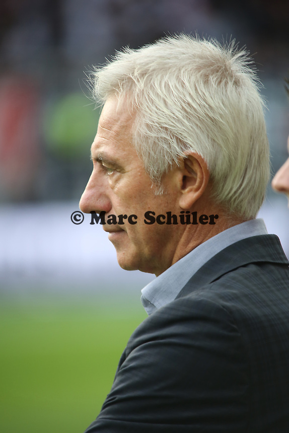 Trainer Bert van Marwijk (HSV) - Eintracht Frankfurt vs. Hamburger SV, Commerzbank Arena