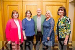 Enjoying the Radio Kerry A Night with the Stars annual concert at The Brandon Hotel on Monday were l-r  Mary O'Connor, Geraldine Lyne, Billy Morrissey, Rita Moriarty and  Marie Sweetman