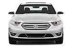 Straight front view of a 2013 Ford Taurus LTD