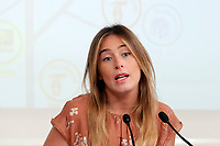 Maria Elena Boschi<br /> Roma 18/07/2017. Conferenza stampa Edilizia Scolastica 2014 - 2018.<br /> Rome July 18th 2017. Press conference about school building plan 2014 - 2018.<br /> Foto Samantha Zucchi Insidefoto