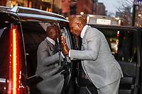NEW YORK, EUA, 08.01.2019 - TERRY-CREWS - O ator norte-americano Terry Crews é visto deixando um programa de televisão em Nova York nos Estados Unidos nesta terça-feira, 08. (Foto: William Volcov/Brazil Photo Press)