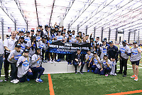 The University of Penn State University men's and women's Indoor Track and Field team compete at the 2014 Big Ten Indoor Track and Field Championships. Geneva, OH at the Spire Institute. February 28 - March 1, 2014