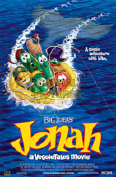 POSTER ART.Jonah - A Veggie Tales Movie .Filmstill - Editorial Use Only.Ref: FB.www.capitalpictures.com.sales@capitalpictures.com.Supplied by Capital Pictures