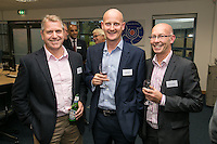 Bruton Knowles chaps from left are Sam Spencer, Jamie Bailey and Geoff Solman
