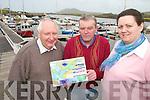 AWARDS: Planning for the return of the community awards in Cahersiveen last week were staff of the ACARD centre at the Marina in Cahersiveen, l-r: Ron Kimber, Kieran McCarthy (FAS Supervisor), Claire Cross.