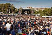 Pictured: General view of the venue. Saturday 13 July 2019<br /> Re: Stereophonics live concert at the Singleton Park in Swansea, Wales, UK.