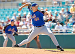 15 March 2006: Aaron Heilman, pitcher for the New York Mets, on the mound during a Spring Training game against the Washington Nationals. The Mets defeated the Nationals 8-5 at Space Coast Stadium, in Viera, Florida...Mandatory Photo Credit: Ed Wolfstein..