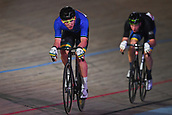 7th February 2019, Melbourne Arena, Melbourne, Australia; Six Day Melbourne Cycling; Cameron Scott of Australia rides during the Madison Scratch