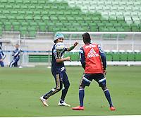SÃO PAULO, SP, 08.05.2015 - TREINO - PALMEIRAS - Valdivia do Palmeiras durante treino da equipe no Allianz Parque da Barra Funda região oeste de São Paulo, nesta sexta-feira, 08.  (Foto: Bruno Ulivieri/Brazil Photo Press/Folhapress)