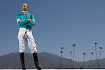 SANTA ANITA, CA- MARCH 31:  John Smith poses for a portrait during the Jockey's II Portrait Shoot at the Santa Anita Race Track on March 31, 2009 in Santa Anita, California. (Photo by Donald Miralle for Discovery Communications)