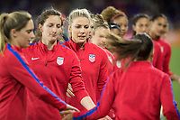 Orlando, FL - Wednesday March 07, 2018: Julie Ertz during the She Believes Final Cup Match featuring USA Women's National Team vs. Englands Women's National Team