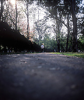 Mother runners, Claudia Rigoletti, Chapultepec Park, Mexico DF