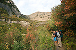 0709-38 Mt. Timp Snow Research..Geology Students study snow pack on the east side of mount Timpanogus...September 15, 2007..Photo by Steve Walters/BYU..Copyright BYU PHOTO 2007.All Rights Reserved.(801) 422-7322.photo@byu.edu..