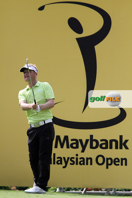 Soren Kjeldsen (DEN) on the 17th on Day 1 of the 2013 Maybank Malaysian Open, Kuala Lumpur Golf and Country Club, Kuala Lumpur, Malaysia 21/3/13...(Photo Jenny Matthews/www.golffile.ie)