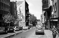 Belgrado, zona centro. Graffiti --- Belgrade, downtown. Graffiti