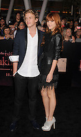 "LOS ANGELES, CA - NOVEMBER 14: Cody Simpson and Bella Thorne arrive at the Los Angeles premiere of ""The Twilight Saga: Breaking Dawn Part 1"" held at Nokia Theatre L.A. Live on November 14, 2011 in Los Angeles, California. /NortePhoto.com<br /> <br /> **CREDITO*OBLIGATORIO** *No*Venta*A*Terceros*<br /> *No*Sale*So*third*"