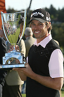 02/20/11 Pacific Palisades, CA: Aaron Baddeley during the final round of the Northern Trust Open held at the Riviera Country Club. Baddeley won the Tournament by two strokes over Vijay Singh.