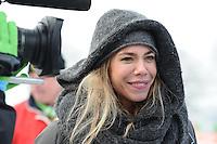 SCHAATSEN: NOORDLAREN: 18-01-2017, IJsvereniging De Hondsrug, de eerste marathon op natuurijs van 2017, Nicolette Kluijver, ©foto Martin de Jong