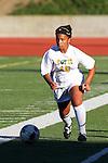 Manhattan Beach, CA 01/21/10 - Megan Mahoney  (Mira Costa #10)  in action during the Mira Costa vs Peninsula Bay League soccer game at Mira Costa.  Peninsula defeated Mira Costa 2-0.
