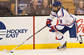 Ryan Lohin (UML - 18) The University of Massachusetts-Lowell River Hawks defeated the Boston College Eagles 4-3 to win the 2017 Hockey East tournament at TD Garden on Saturday, March 18, 2017, in Boston, Massachusetts.