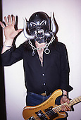 1984: MOTORHEAD - Lemmy Kilmister at home in London