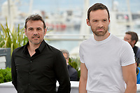 Stephane Rideau &amp; Alban Lenoir at the photocall for &quot;Angel Face&quot; at the 71st Festival de Cannes, Cannes, France 12 May 2018<br /> Picture: Paul Smith/Featureflash/SilverHub 0208 004 5359 sales@silverhubmedia.com