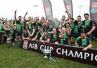 AIB Cup Final 2009. Ballynahinch players celebrate winning the AIB Cup. Mandatory Credit - Mandatory Credit - John Dickson