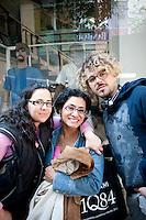 A walk through La Roma Neighbourhood with Torreblanca lead singer/composer Juan Manuel. Colonia Roma, Mexico DF.