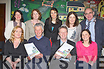 Eamon O'Reilly North and East Kerry Development launched the the report on the needs of Firies Village in Marian Hall Firies on Thursday night front row l-r: Aine Walsh, David Gleeson, Eamon O'Reilly, Geraldine O'Halloran KDYS. Back row: Linda McCarthy, Seosaimhin O'Halloran, Aileen O'Sullivan Maine Valley FRC, Patricia Maher HSE and Sean McCarthy KCC..