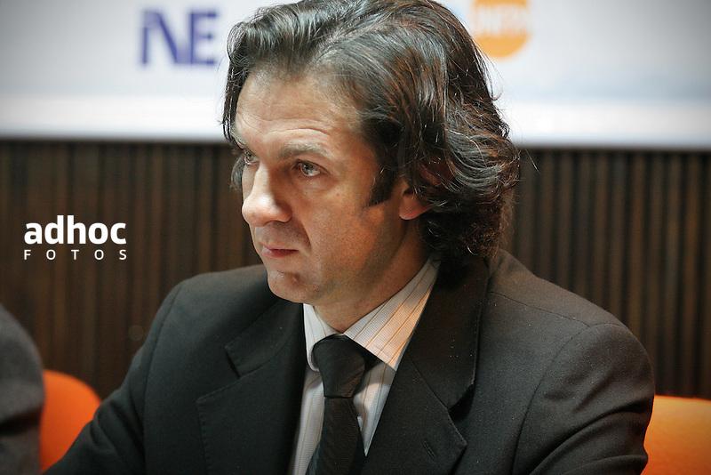 Juan Jose Calvo. Demografo. Montevideo, 2007.<br /> URUGUAY / MONTEVIDEO / <br /> Foto: Ricardo Ant&uacute;nez / AdhocFotos<br /> www.adhocfotos.com