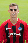 St Johnstone FC 2013-14<br /> Keiran Stewart<br /> Picture by Graeme Hart.<br /> Copyright Perthshire Picture Agency<br /> Tel: 01738 623350  Mobile: 07990 594431