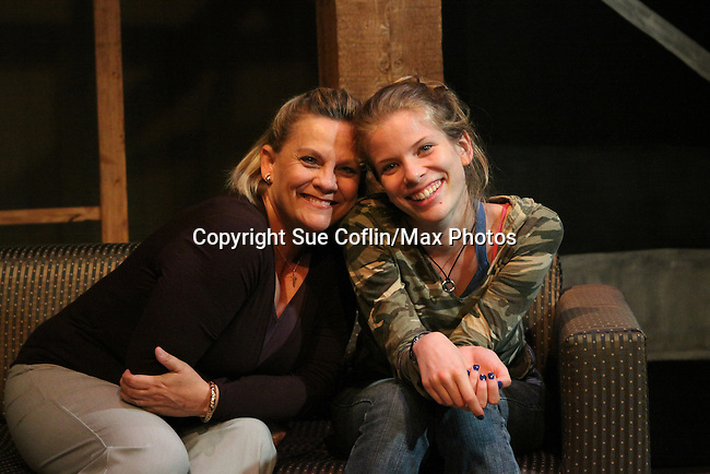 Photo Shoot on August 31, 2010 - Emmy-Award Winner Kim Zimmer and Alexandra Rivera star in Lost Boy Found in Whole Foods, a new play being produced by Premiere Stages at Kean University and Playwrights Theatre of New Jersey. The production runs from September 2 through 19 in the Zella Fry Theatre on the Kean University campus, located at 1000 Morris Avenue, Union, N.J. Legendary Daytime star, known to millions as Reva Shayne on Guiding Light, takes to the stage before her return to daytime this fall on ABC's One Life to Live and the release of a tell-all book. (Photo by Sue Coflin/Max Photos)