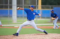 Toronto Blue Jays pitcher Daniel Young (25) during an instructional league game against the Philadelphia Phillies on September 28, 2015 at the Englebert Complex in Dunedin, Florida.  (Mike Janes/Four Seam Images)