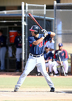 Lonnie Chisenhall / Cleveland Indians 2008 Instructional League..Photo by:  Bill Mitchell/Four Seam Images