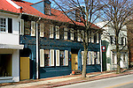 Maryland: Annapolis.  Historic houses.  Photo #: mdanna105(nef395).Photo copyright Lee Foster, www.fostertravel.com, 510/549-2202, lee@fostertravel.com