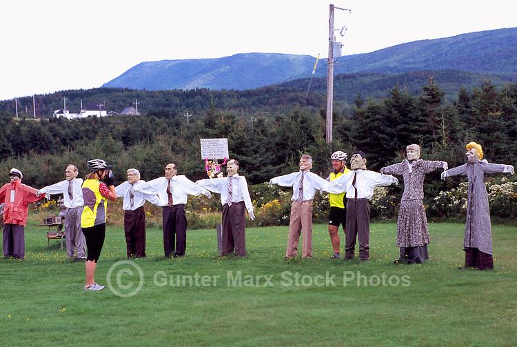 Joe's Scarecrows, Cap le Moine, Cape Breton Island, Nova Scotia, NS, Canada - Tourist Attraction along Cabot Trail