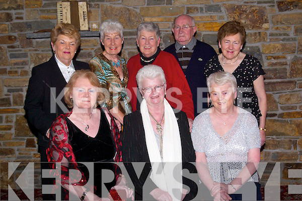 BRIDGE: Members of Tralee Bridge Club who had a social night in Kirby's Lantern Hotel, Tarbert, on Saturday were front l-r: Peggy, Kitty and Breeda McCarthy. Back l-r: Stella Sheehan, Phil O'Mahony, Madeline and Nevy O'Regan and Nora Sweeney.   Copyright Kerry's Eye 2008