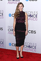 LOS ANGELES, CA - JANUARY 09: Tracy Spiridakos arrives at the 39th Annual People's Choice Awards held at Nokia Theatre L.A. Live on January 9, 2013 in Los Angeles, California.  Credit: MediaPunch Inc. /NORTEPHOTO