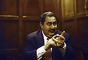 France 2003.Paris, Hotel Raphael: Hoshyar Zibari, ministre irakien des Affaires Etrangeres.France 2003.Paris, Hotel Raphael: Hoshyar Zibari, Iraki minister of Foreign Affairs