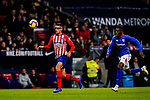 Francisco Montero of Atletico de Madrid (L) in action during the La Liga 2018-19 match between Atletico de Madrid and Athletic de Bilbao at Wanda Metropolitano, on November 10 2018 in Madrid, Spain. Photo by Diego Gouto / Power Sport Images