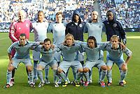 Sporting KC starting XI... Sporting Kansas City defeated FC Dallas 2-1 at LIVESTRONG Sporting Park, Kansas City, Kansas.