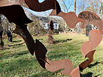 The work of the late David Hayes at the Hayes Farmstead, the fields have been listed on the State Register of Historic Places, Wednesday, November 15, 2017, in Coventry. (Jim Michaud / Journal Inquirer)
